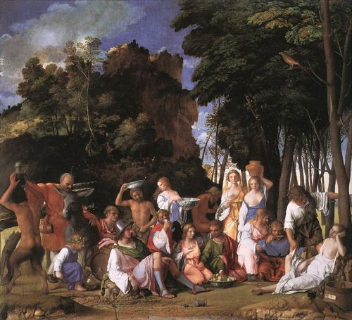 Feast of the Gods 1514 - Giovanni Bellini