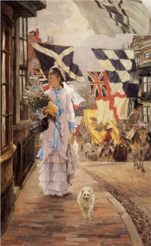 Fete Day at Brighton - James Tissot