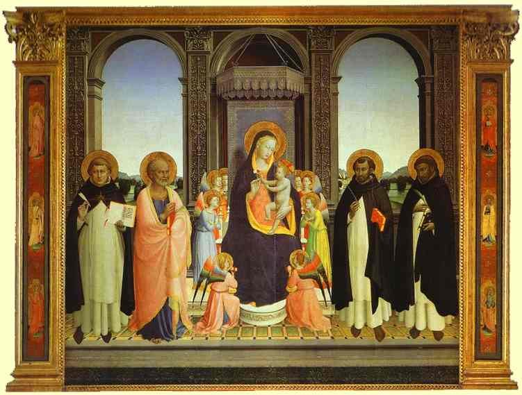 Fiesole Triptych - Fra Angelico