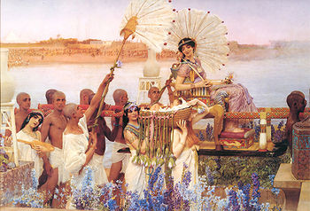 Finding of Moses - Lawrence Alma Tadema