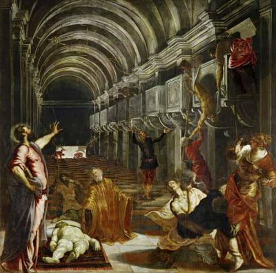 Finding of the Body of St Mark - Jacopo Robusti Comin Tintoretto