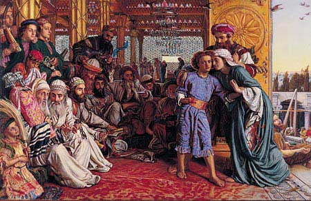 Finding of the Saviour in the Temple - William Holman Hunt