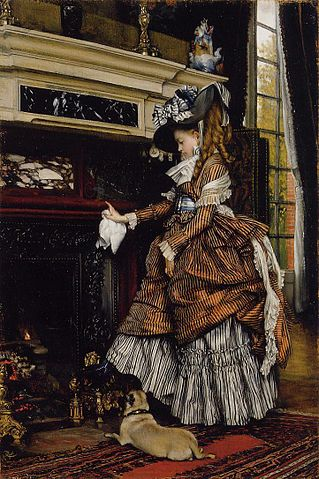 Fireplace - James Tissot