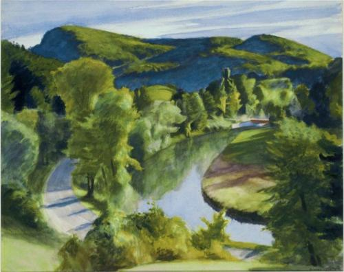 First Branch of the White River, Vermont - Edward Hopper