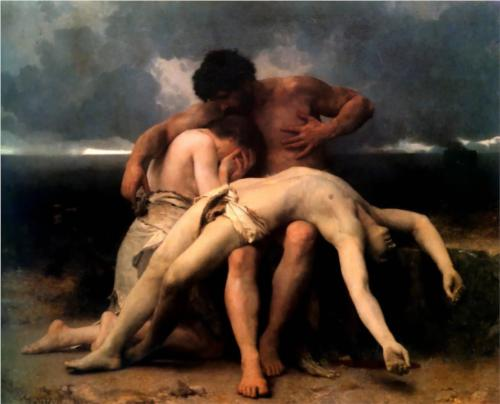 First Mourning - William Adolphe Bouguereau