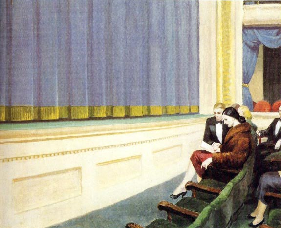 First Row Orchestra - Edward Hopper