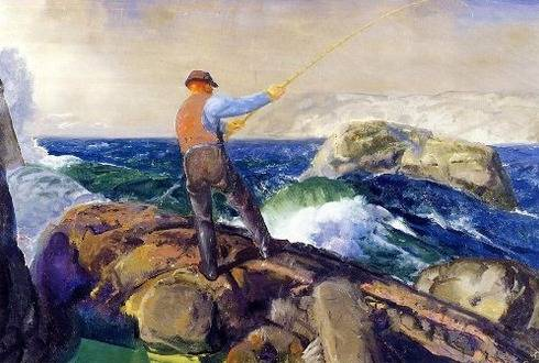 Fisherman - George Bellows