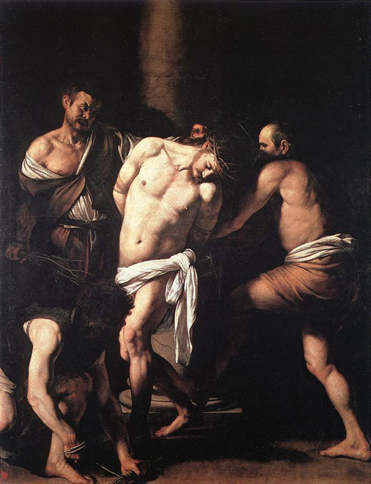Flagellation of Christ II - Michelangelo Merisi da Caravaggio