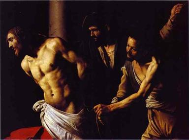 Flagellation of Christ - Michelangelo Merisi da Caravaggio