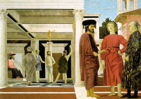 Flagellation of Christ - Piero della Francesca