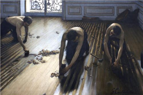 The Floor Scrapers - Gustave Caillebotte