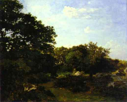 Forest of Fontainebleau - Frederic Bazille