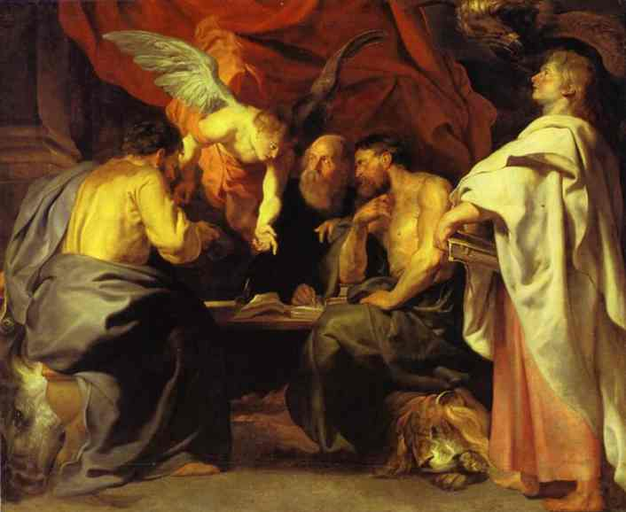 Four Evangelists - Paul Peters Rubens