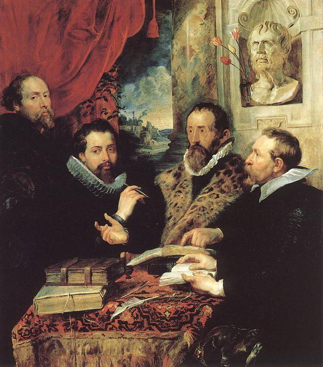 The Four Philosophers - Peter Paul Rubens