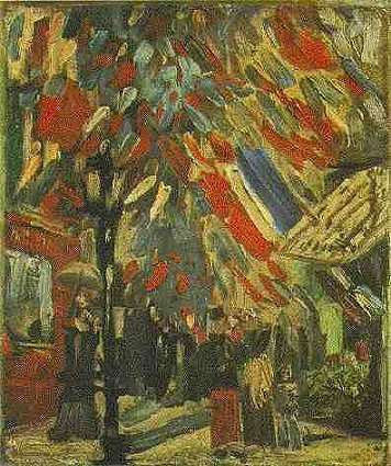 Fourteenth of July in Paris - Vincent van Gogh