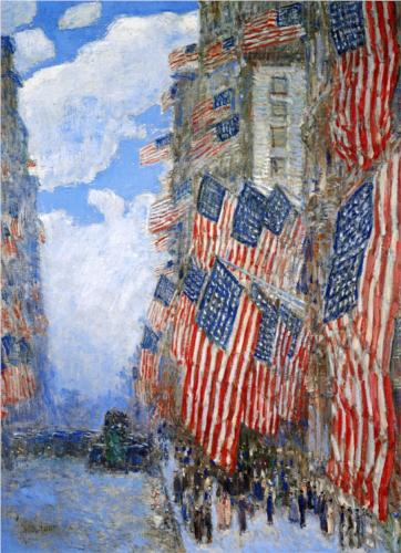 Fourth of July - Childe Hassam