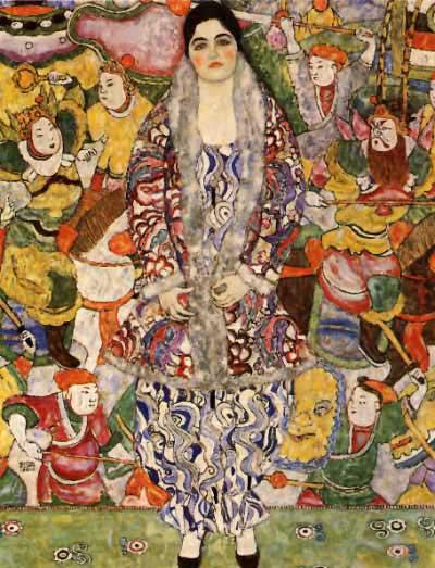 Friederike Maria Beer - Gustav Klimt
