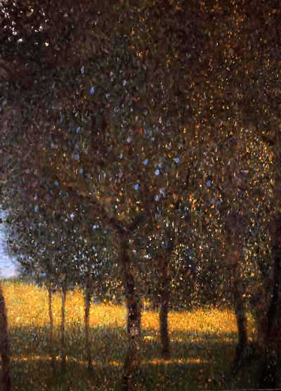 Fruit Trees - Gustav Klimt