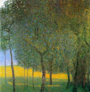 Fruit Trees by the Lake - Gustav Klimt