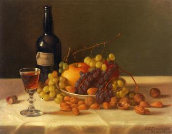 Fruit and Wine Glass - John F Francis