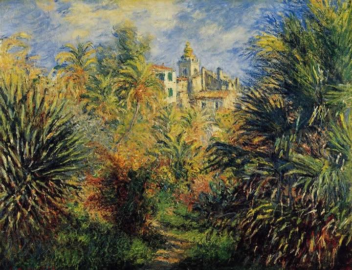 Garden at Bordighera - Claude Monet