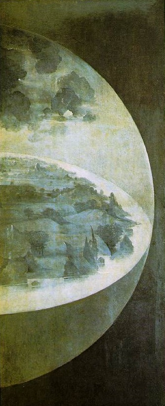 Garden of Earthly Delights Exterior Right Panel - Hieronymus Bosch