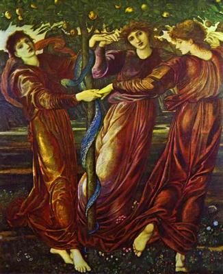 Garden of Hesperides - Edward Coley Burne Jones