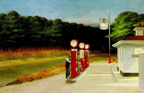 Gas - Edward Hopper