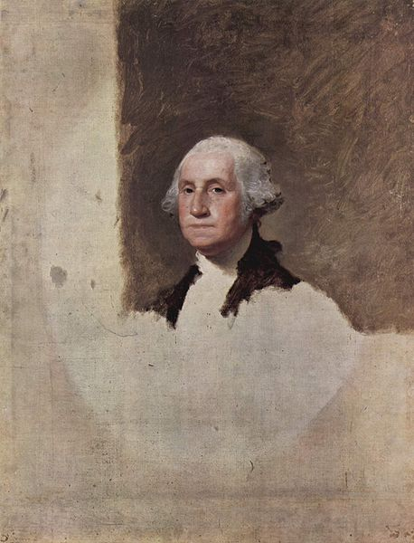 George Washington (Athenaeum) by Gilbert Stuart