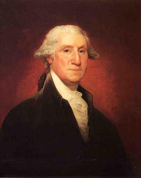 George Washington The Vaughan Portrait - Gilbert Stuart