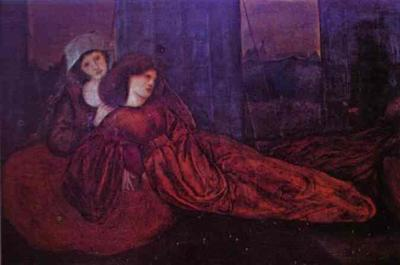 Girls in a Meadow - Edward Coley Burne Jones