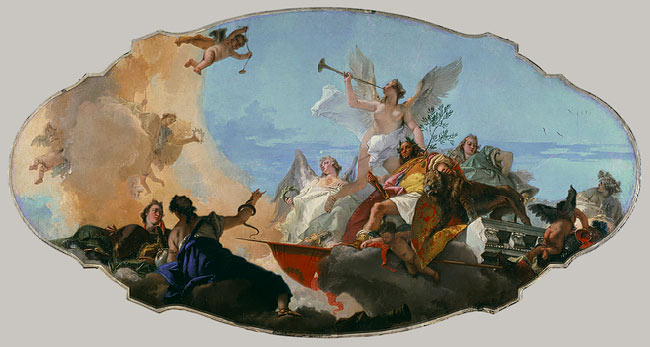 Giovanni Tiepolo Painting Reproductions For Sale Canvas