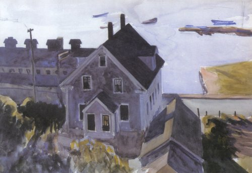 Gloucester Factory and Houses - Edward Hopper