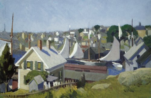 Gloucester Harbor - Edward Hopper