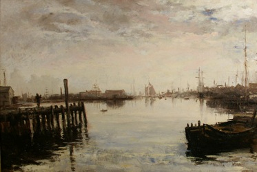 Gloucester Harbor - William Morris Hunt