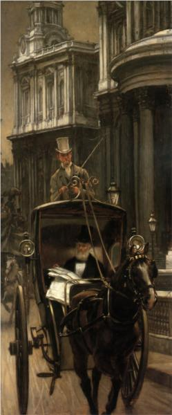 Going to Business - James Tissot