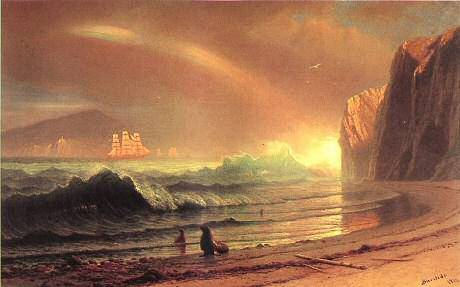 Golden Gate - Albert Bierstadt