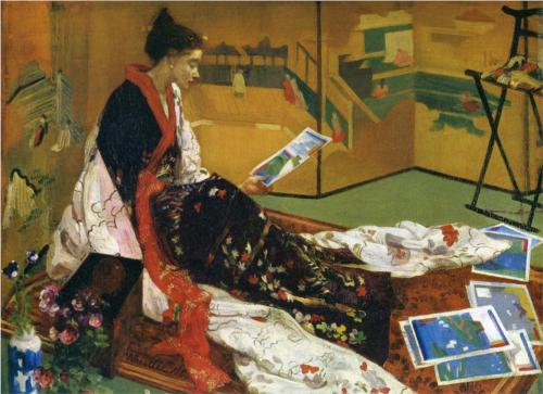 The Golden Screen - James McNeill Whistler