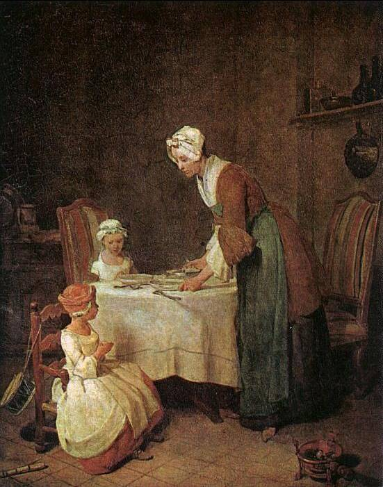 Grace before the Meal - Jean-Baptiste-Simeon Chardin