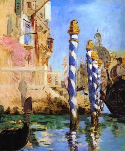 Grand Canal, Venice - Edouard Manet