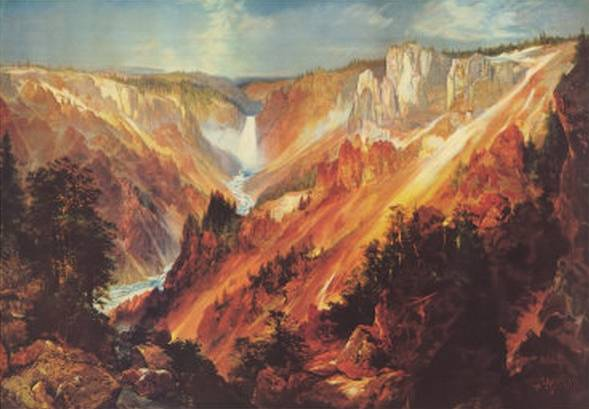 Grand Canyon of the Yellowstone - Thomas Moran