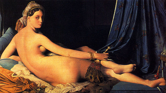 Grand Odalisque - Jean Auguste Dominique Ingres