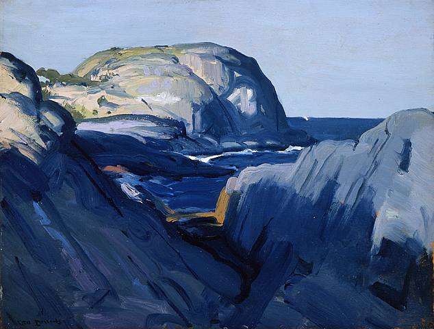 Gray and Blue - George Bellows