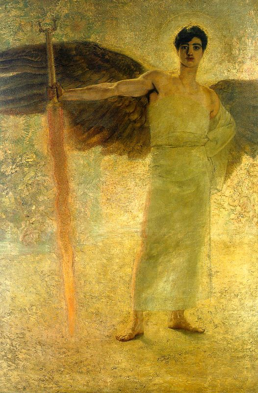 Guardian of Paradise - Franz Von Stuck
