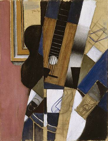Guitar and Pipe - Juan Gris