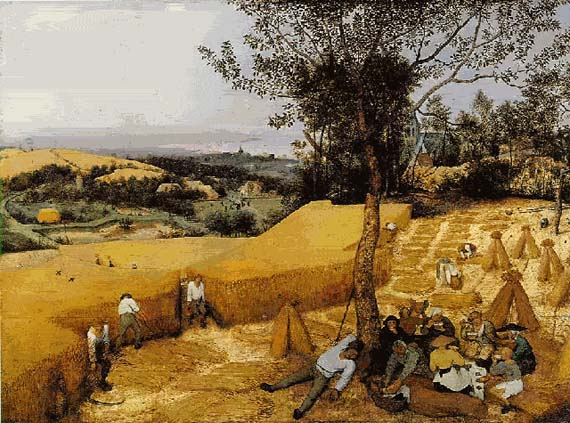 The Harvesters - Pieter Bruegel