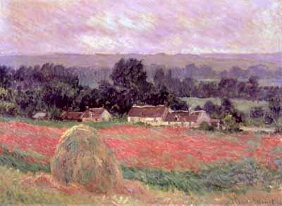 Haystack at Giverny - Claude Monet