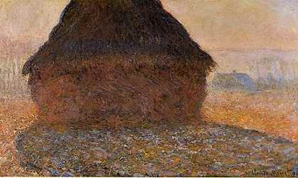 Haystack in Sunshine - Claude Monet
