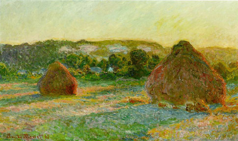Haystacks - Claude Monet