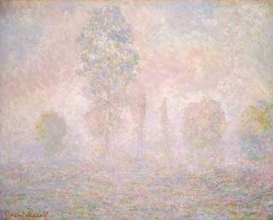 Haze in the Morning - Claude Monet